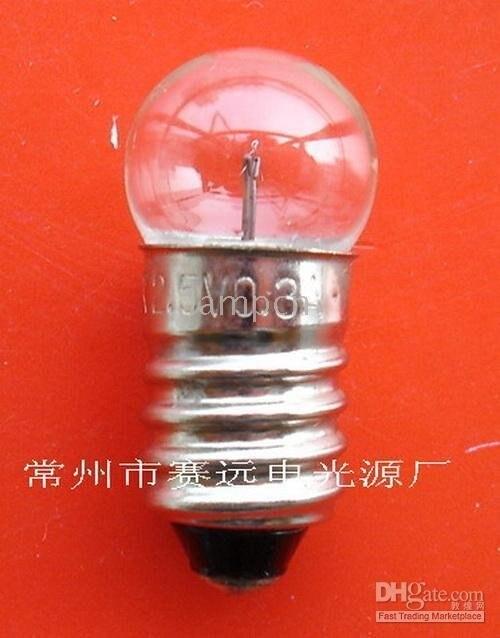 ¡2,5 v 0.3a a070 nuevo! Krypton lámpara e10 g11