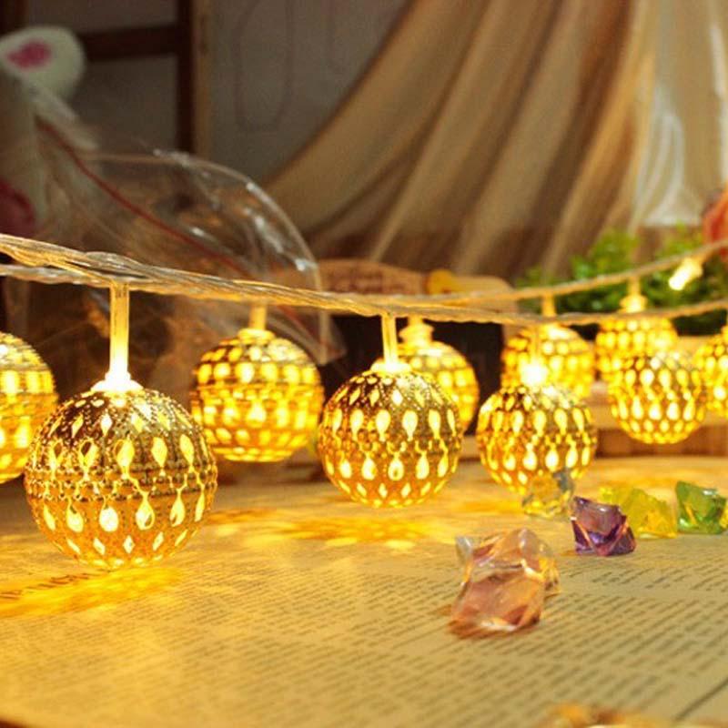 Guirnaldas de Luces LED para decoración Luces navideñas, guirnaldas de Luces LED...