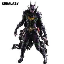 Batman Figuur Gogues Gallery Joker Batman Play Arts Kai Spelen Art KAI PVC Action Figure Bat Man Bruce Wayne 26 cm Pop Speelgoed