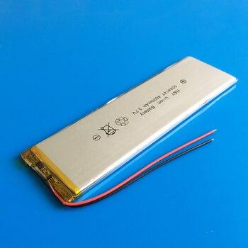 5044147 3,7 V 4000mAh литиевая полимерная аккумуляторная батарея Lipo для GPS DVD PAD power bank электронная книга камера планшетный ПК ноутбук