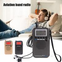 Multifunctional Full Band Radio FM/AM/SW/Air/VHF Reception Portable Radio GDeals