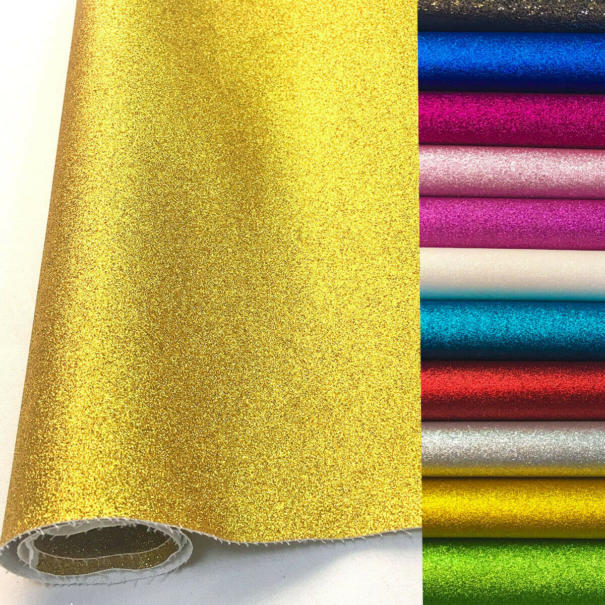 AliExpress - A4/20x135cm Frosted FINE Glitter Vinyl Fabric Sparkle Shiny iridescent  Faux Leather Craft DIY Material Bows Bag Decor Sheets