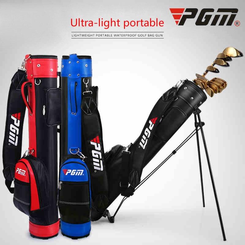 Multiusos Pgm Golf Rack bolsa hombres Caddy Golf carrito trípode Rack cosas Golf bolsa mujeres gran capacidad Paquete de Golf 9 Clubs D0063