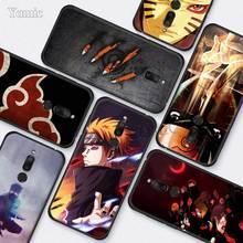 Meizu 용 실리콘 전화 케이스 17 16s Pro 16T 16Xs 16th 16 M6 검은 색 소프트 TPU 케이스 커버 Capa Naruto Kakashi Japanese anime