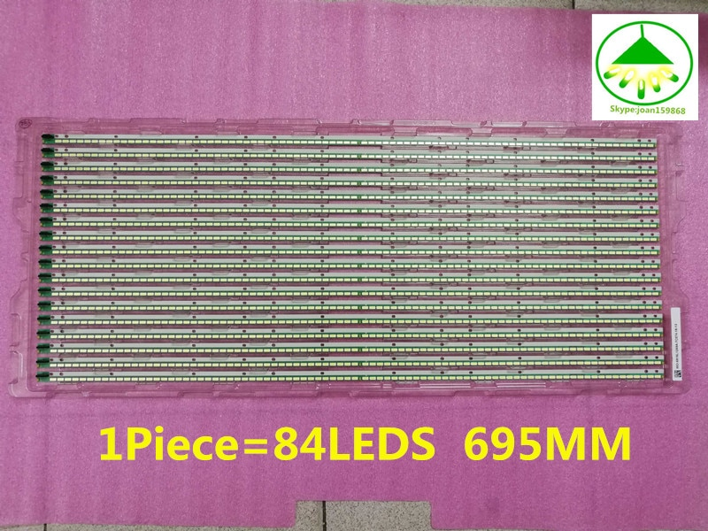 "55E610G LC550EUN (SF F1) 6922L-0048A tira de LED de 55 ""V13 borde REV0.2 6920L-0001C 6916L1092A 1 pieza 84LED 695 MM envío gratis"