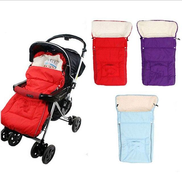 Frete grátis quente envelope para recém-nascido carrinho de bebê velo saco de dormir footmuff saco infantil carrinho trq0335