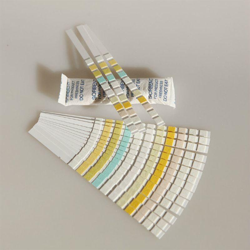 Tira 100 do reagente da tira do teste da urina dos pces H-11MA para 11 urinálise com o ket da bilirrubina do urobilinogen do teste da capacidade da anti-vc