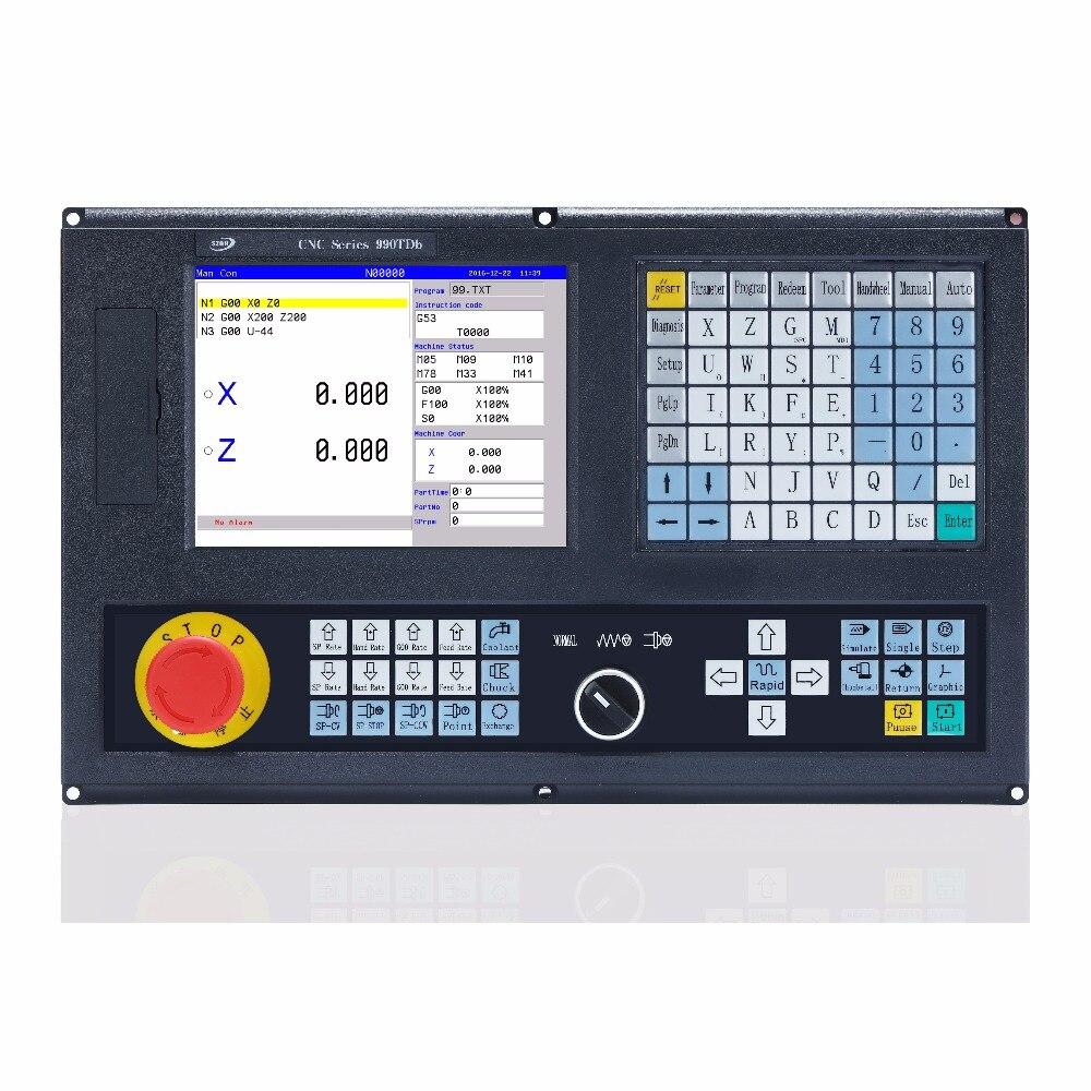 أفضل سعر 2 محور CNC مخرطة تحكم ل التحديثية مخرطة آلة ATC G رمز