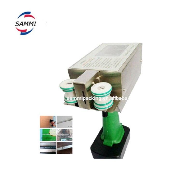 Fácil configuração digital impressora jato de tinta industrial, máquina de impressão de tubos de PVC