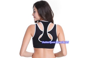 Women Gym Bra Sports Clothing Fitness Tops Shirts Quick Dry Strappy Running Push Up Yoga Clothes Girls Vest Female Underwear E40