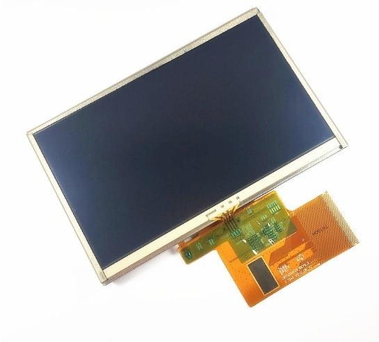 "Latumab nuevo 5 ""pulgadas LMS500HF05-002 para TomTom XXL 530 540 GPS pantalla LCD con digitalizador de pantalla táctil panel envío Gratis"