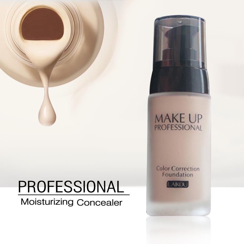 LAIKOU Base de Marca de Maquiagem Rosto Líquido Fundação BB Cream Concealer Whitening Hidratante Oil-control 40 Maquiagem À Prova D Água g