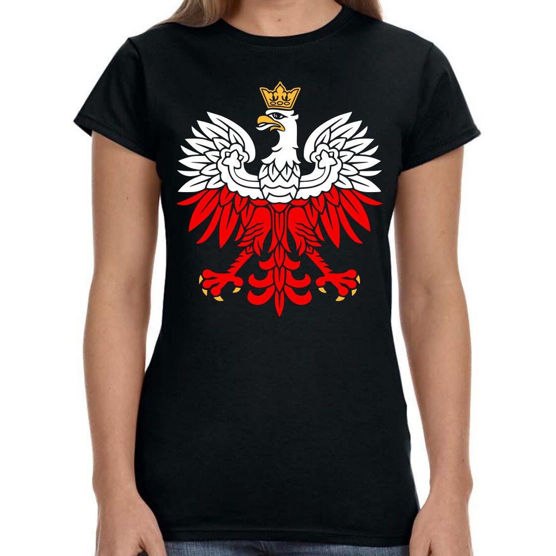 2019 Hot Sale Fashion White-Red Patriotic T-shirt Poland Eagle Polish Patriotic T Shirt Tee Shirt