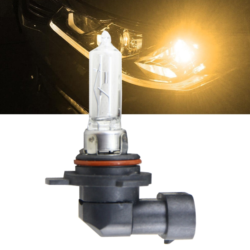 Plug & Play Replace 9012 HIR2 Halogen Light Bulbs 55W 4300K Car Head Lights Bulb 9012 HIR2 PX22d Car