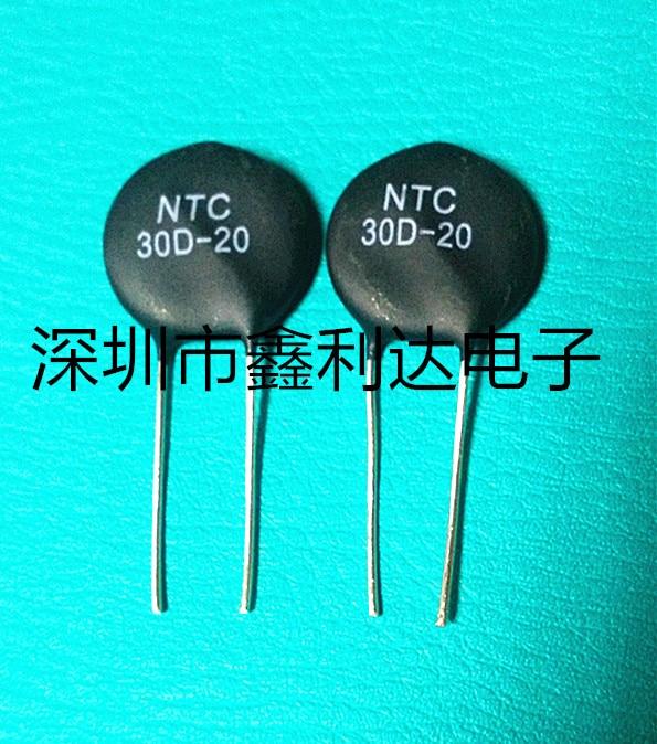 5 pçs/lote MF72 30D20 30D-20 20 MILÍMETROS DIP-2 NTC Resistor Térmica 5pcs New orginal