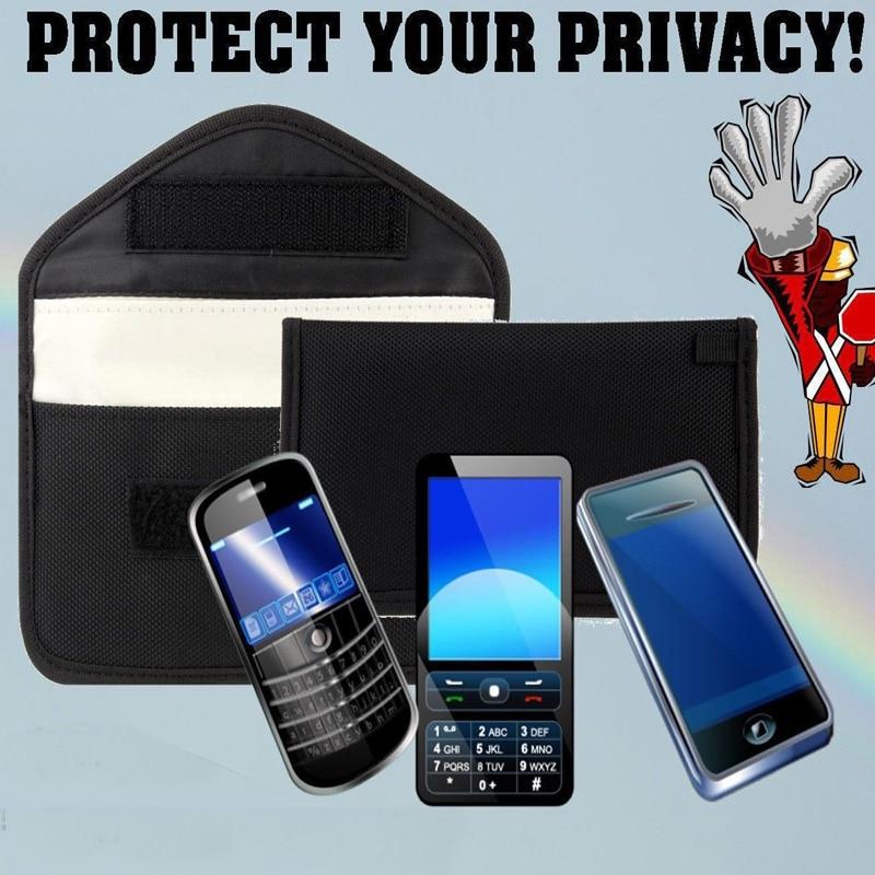Bolsa bloqueadora de señal Anti Spy, para teléfono móvil, con GPS, RFID, seguimiento, bolsa de escucha, protege tu privacidad para Umi plus, funda