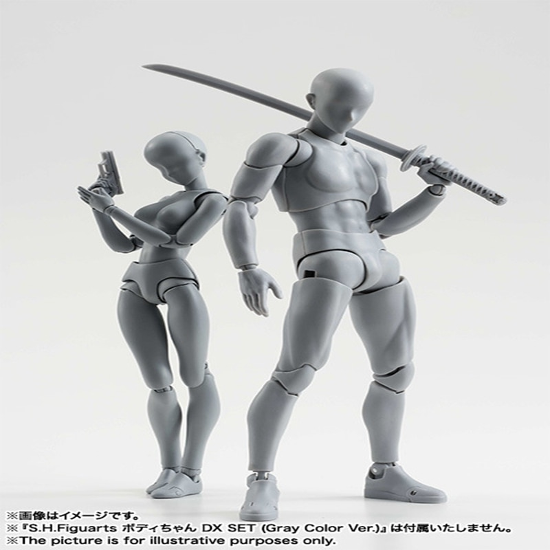 Anime arquetipo que ella de ferrita Figma móvil Cuerpo Femenino Kun cuerpo Chan PVC MODELO DE figura de acción juguetes muñeca de colección