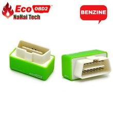 Eco obd2 ben-zine carro economia chip tuning box ecoobd2 plug and drive menor combustível e menor emissão nitro ecu chip tuning