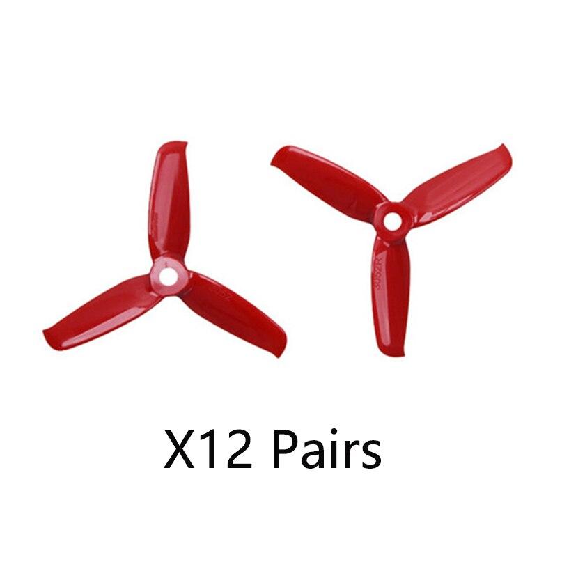 Gemfan فلاش 3052 3.0x5.2 PC 3-مجداف المروحة الدعامة 5 مللي متر تصاعد حفرة ل 1306-1806 المحرك RC Drone الأزرق الأحمر الوردي الأسود