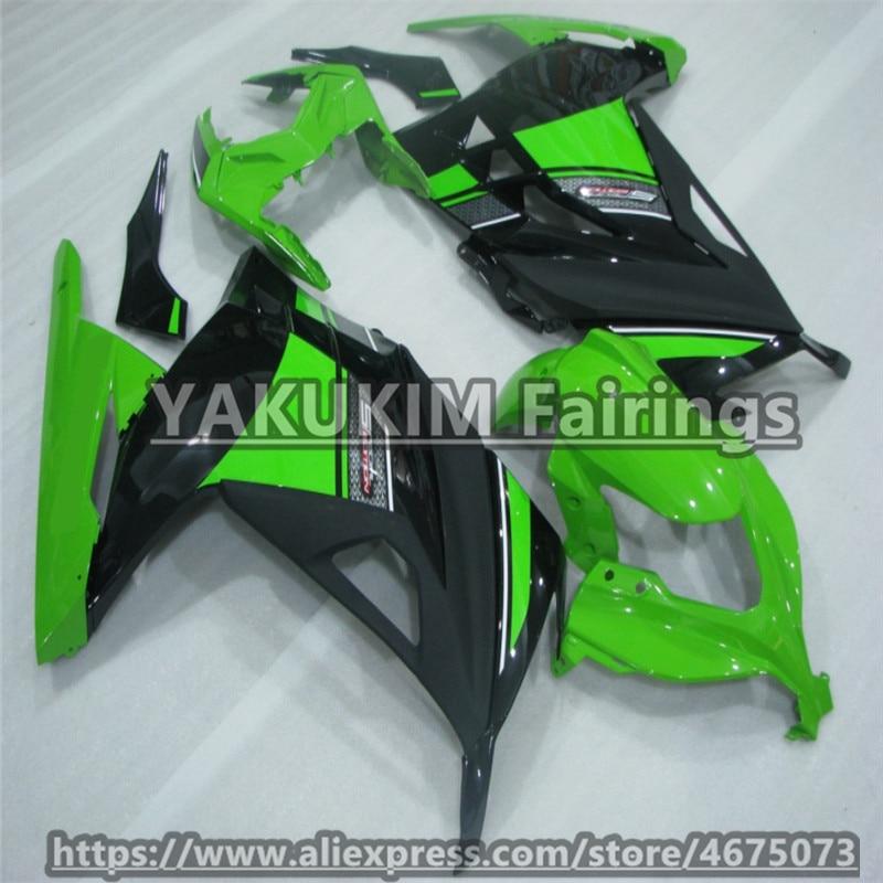 For Kawasaki Ninja 300 EX ZX 300 2013 2014 2015 Motocycle Fairings ZX300r Ninja 2013-2015 ABS Injection Fairing Kit Custom body