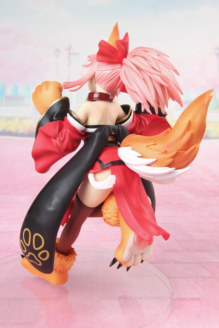 Fate Extra CCC Figure Fate Grand Order Caster Tamamo no Mae Figure Okita Souji 25CM PVC Action Figure Toy Collection Model Gift