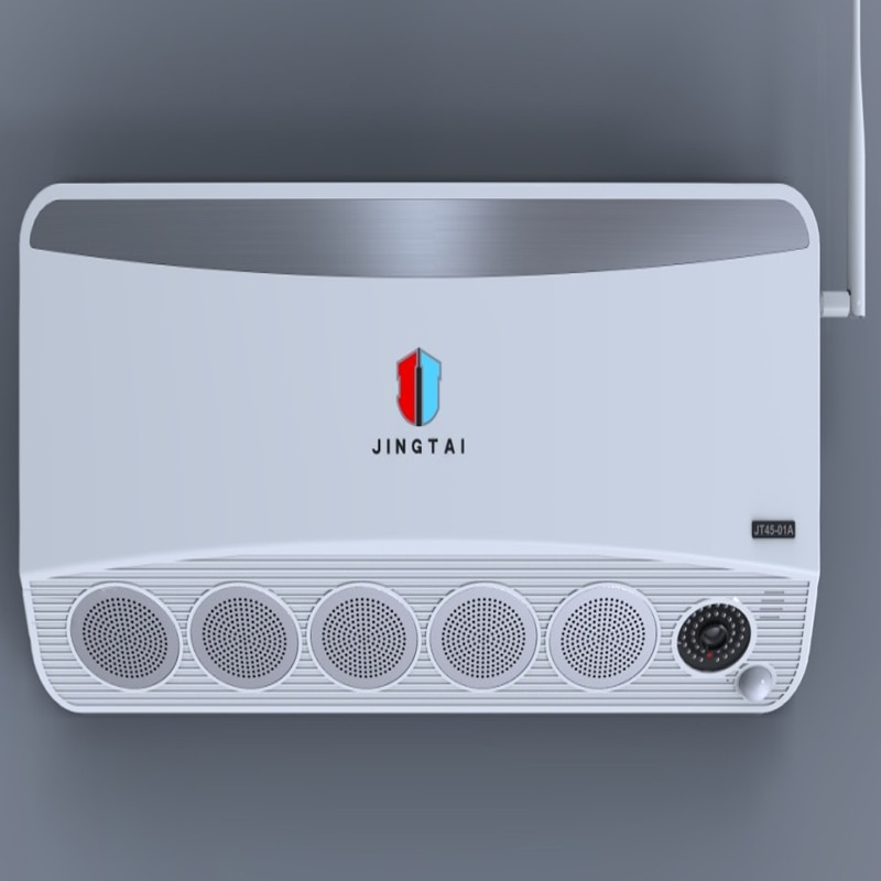 5MP HD IP Camera Video surveillance systems with Smoke Generator by Emergency Buttons, Mobile Remote for Max 150 Square Meters