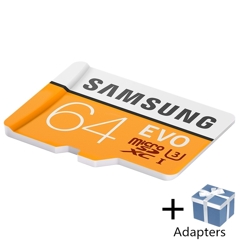 SAMSUNG Microsd Card 256G 128GB 64GB 100Mb/s Class10 U3 32GB 95Mb/s U1 SDXC Grade EVO Micro SD Card Memory Card TF Flash Card enlarge
