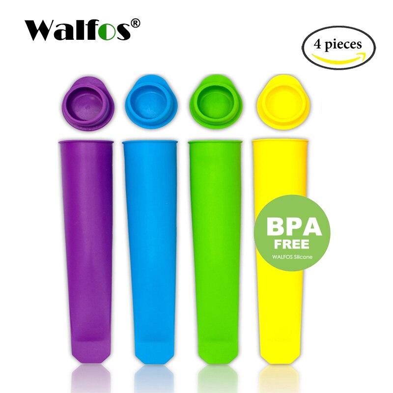 WALFOS Silikon Eis Pop Form Eis Am Stiel Form Eismaschinen Push Up Ice Cream Jelly Lolly Pop Für Popsicle
