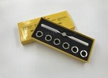 No.5537 6 tailles/ensemble 18.5-29.5mm montre boîtier arrière ouvreur et plus proche pour RLX montres réparation