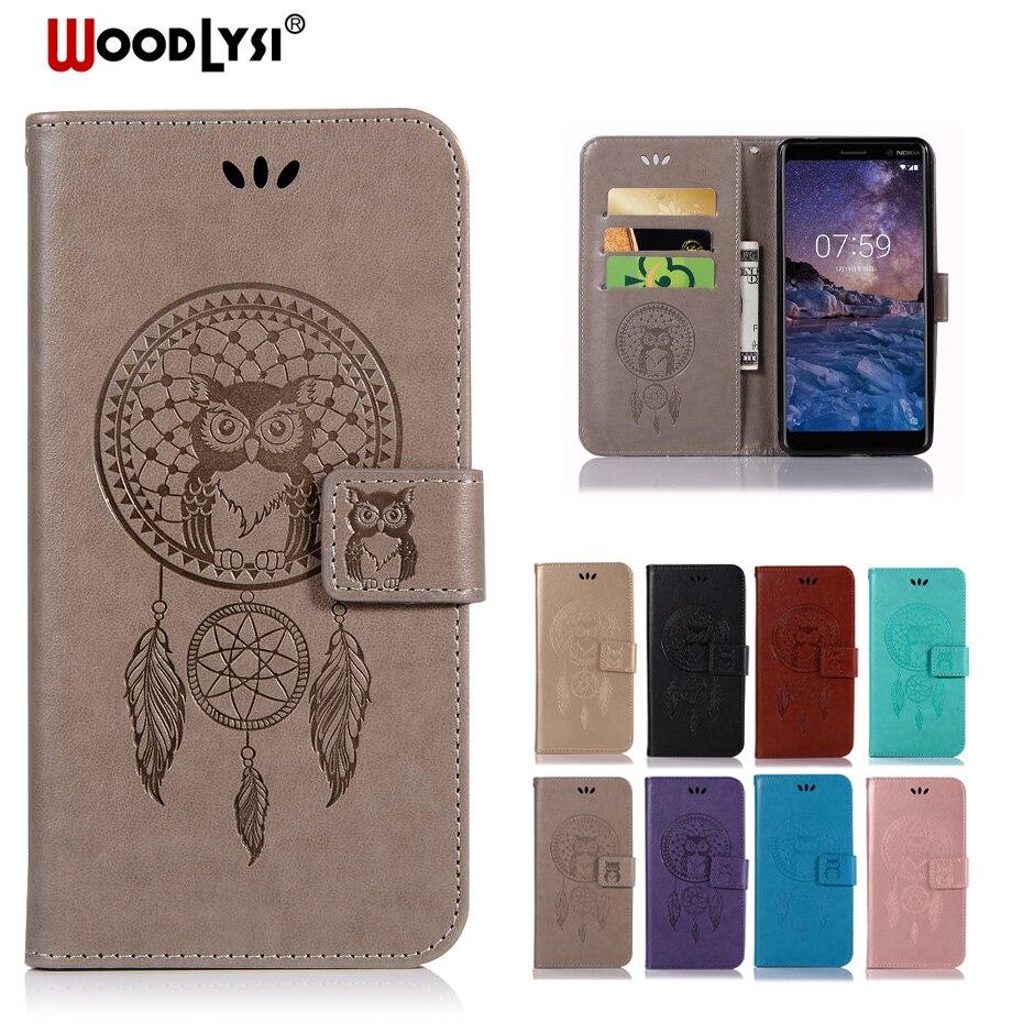 Luxury Leather Flip Case For Nokia 2.1 3.1 5.1 6.1 Plus Coque Fundas Case For Nokia 1 2 3 5 6 8 2018 7 Plus Cover Phone Case