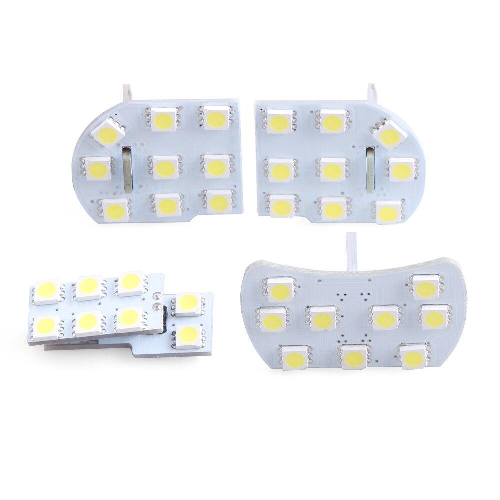4 шт. для Chevrolet Cruze, купольная Светодиодная лампа для светильников и ламп накаливания