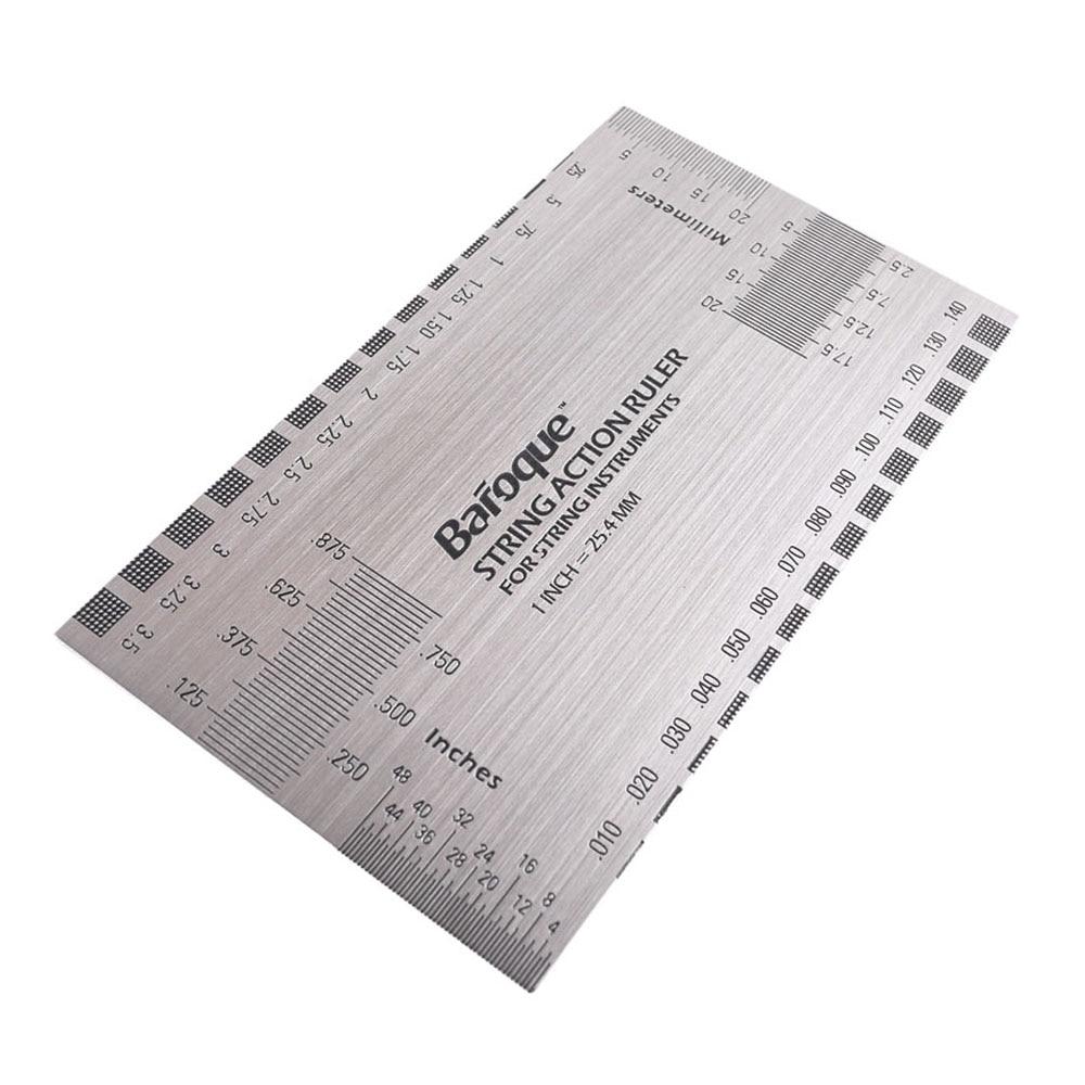 Guitar Repair Tools Set 1pcs Fretboard Protector Set 1pcs Fret Sanding 1pcs String Ruler 1pcs Fret File 2pcs String Spreaders enlarge
