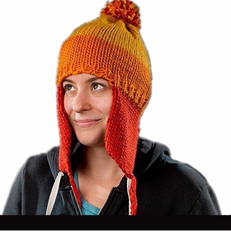 Takerlama Cosplay luciérnaga Serenity sombrero de Jayne Cobb sombrero de Crochet hecho a mano gorro cálido