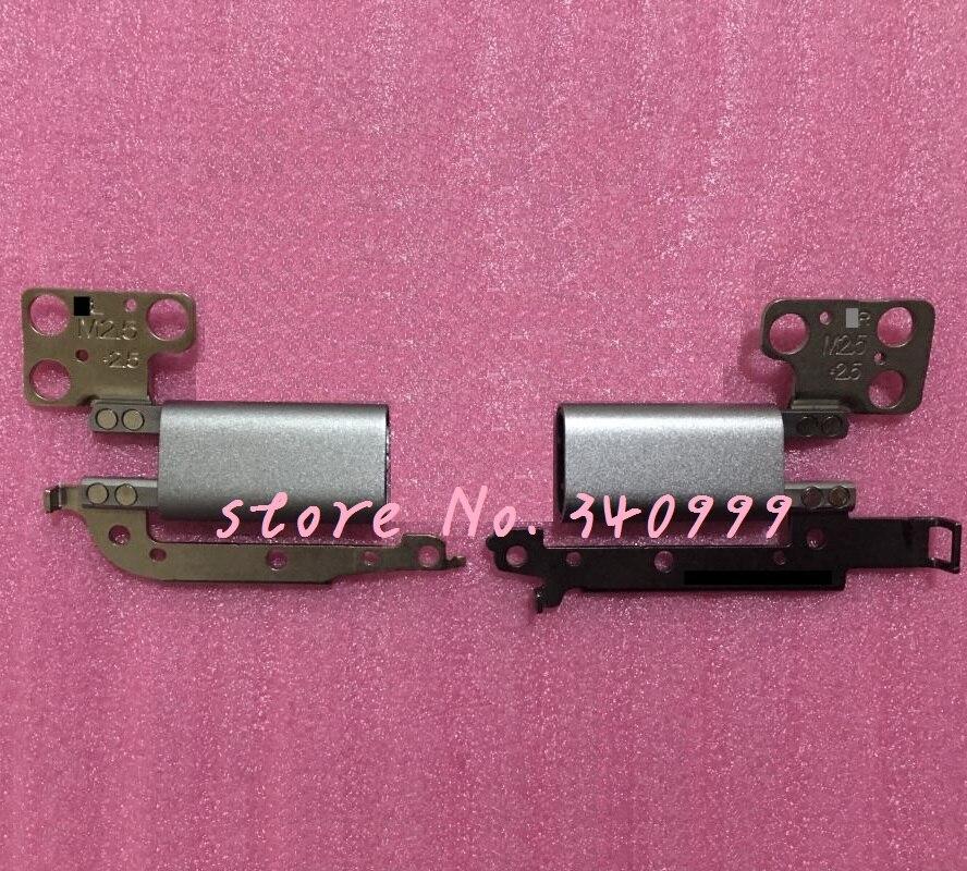 Nuevo LCD bisagras para DELL INSPIRON 13MF 7378 7368 P69G serie derecha e izquierda Lcd Hinge conjunto