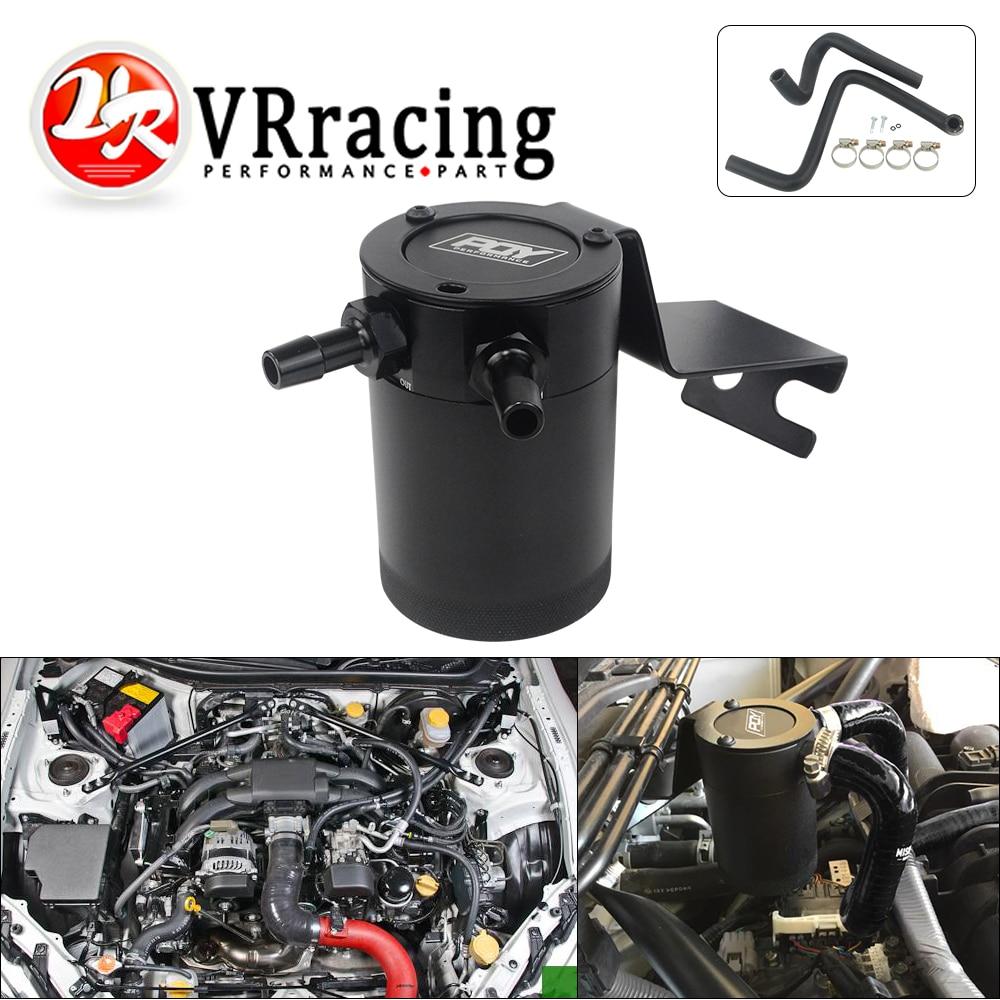 VR Baffled, bote de recogida de aceite universal, depósito de tanque de combustible, depósito de carburador para Subaru BRZ 13-15/Scion FR-S para TOYOTA 86