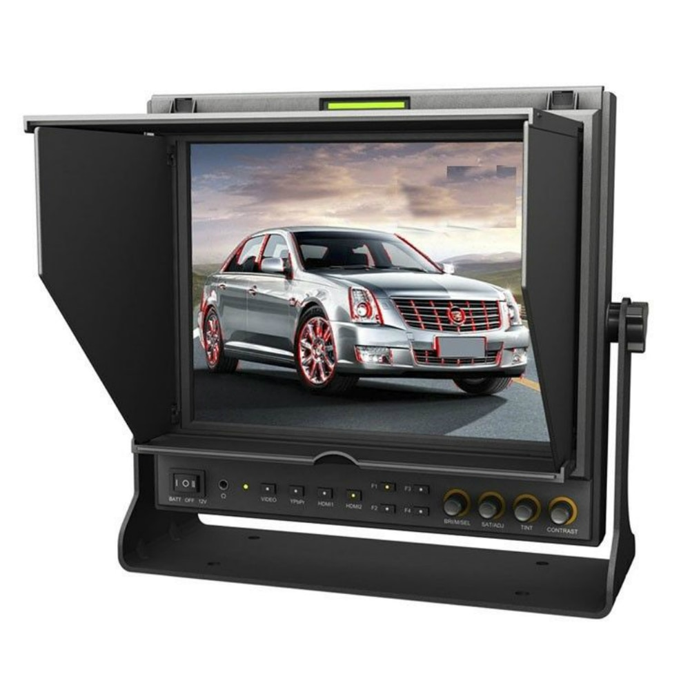Lillimode-شاشة 9.7 بوصة 969A/S 3G HD SDI ، شاشة IPS ، شاشة ميدانية ، LED ، SDI HDMI ، YPbPr ، AV ، ذروة ، لـ BMCC