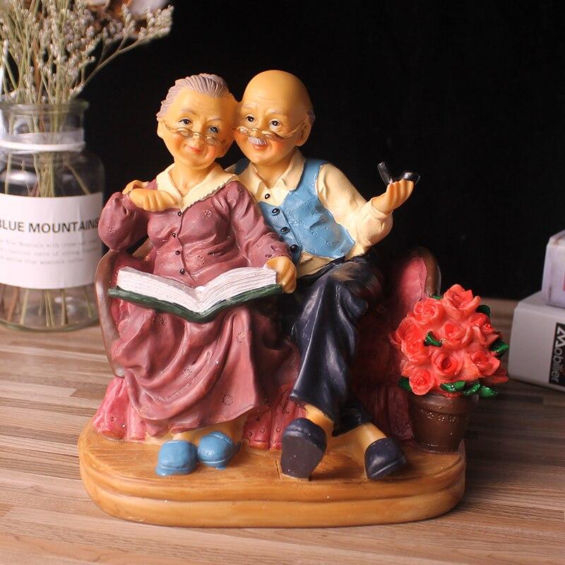 Фигурки, миниатюрные садовые фигурки из смолы, статуэтки для украшения дома, аксессуары для террариума, фигурки, подарки на свадьбу