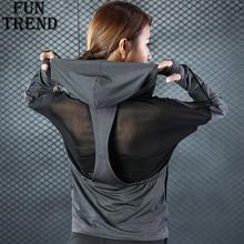 Jacket Coat Women Jersey Hoodie Sweatshirt Zipper Sport Jacket Yoga Shirt Sport Shirt Sport Tracksuit Fitness Yoga Running Shirt