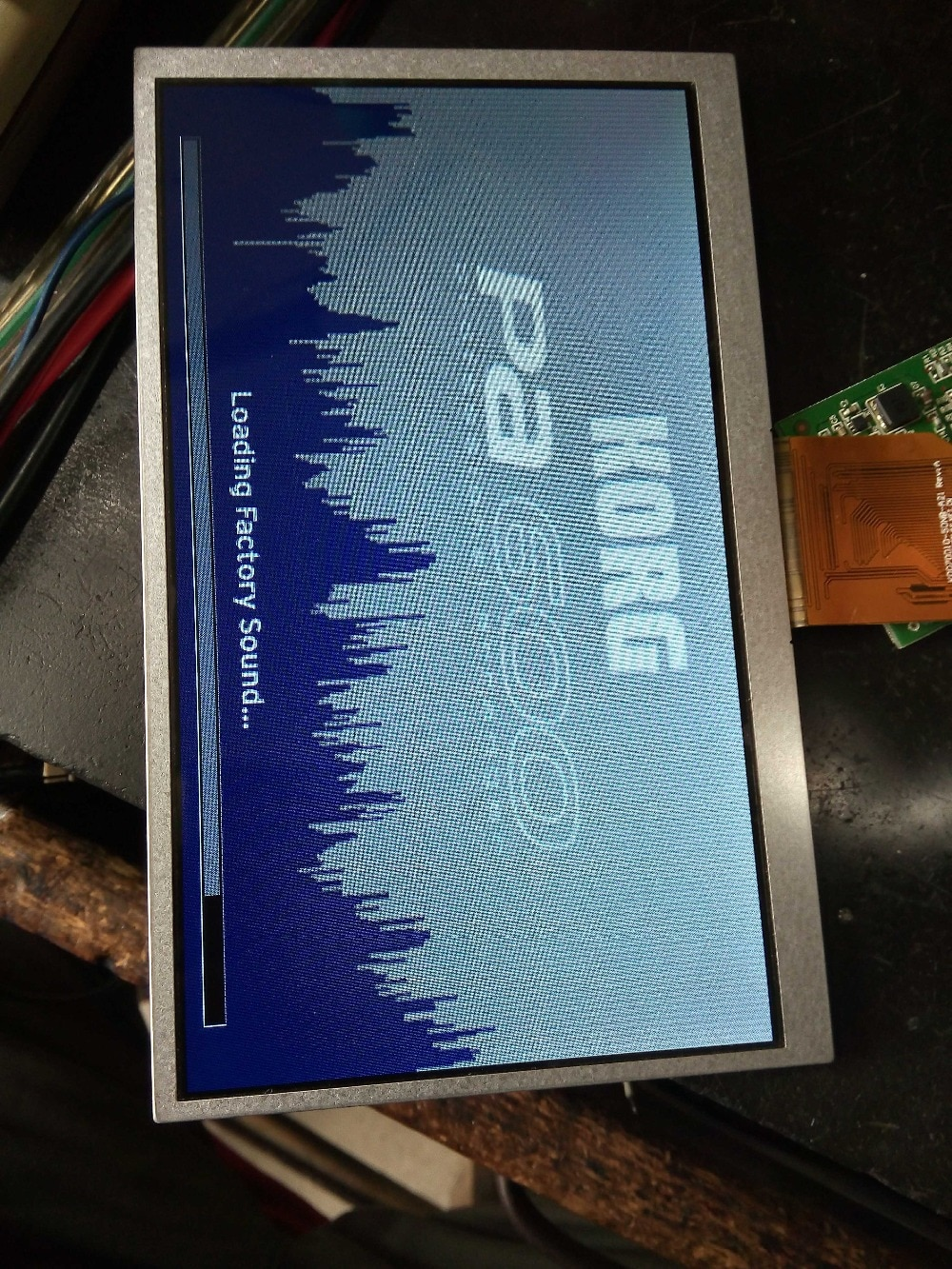 100% prueba Original A + Korg 7,0 pulgadas PA600 Pantalla de panel LCD un año de garantía