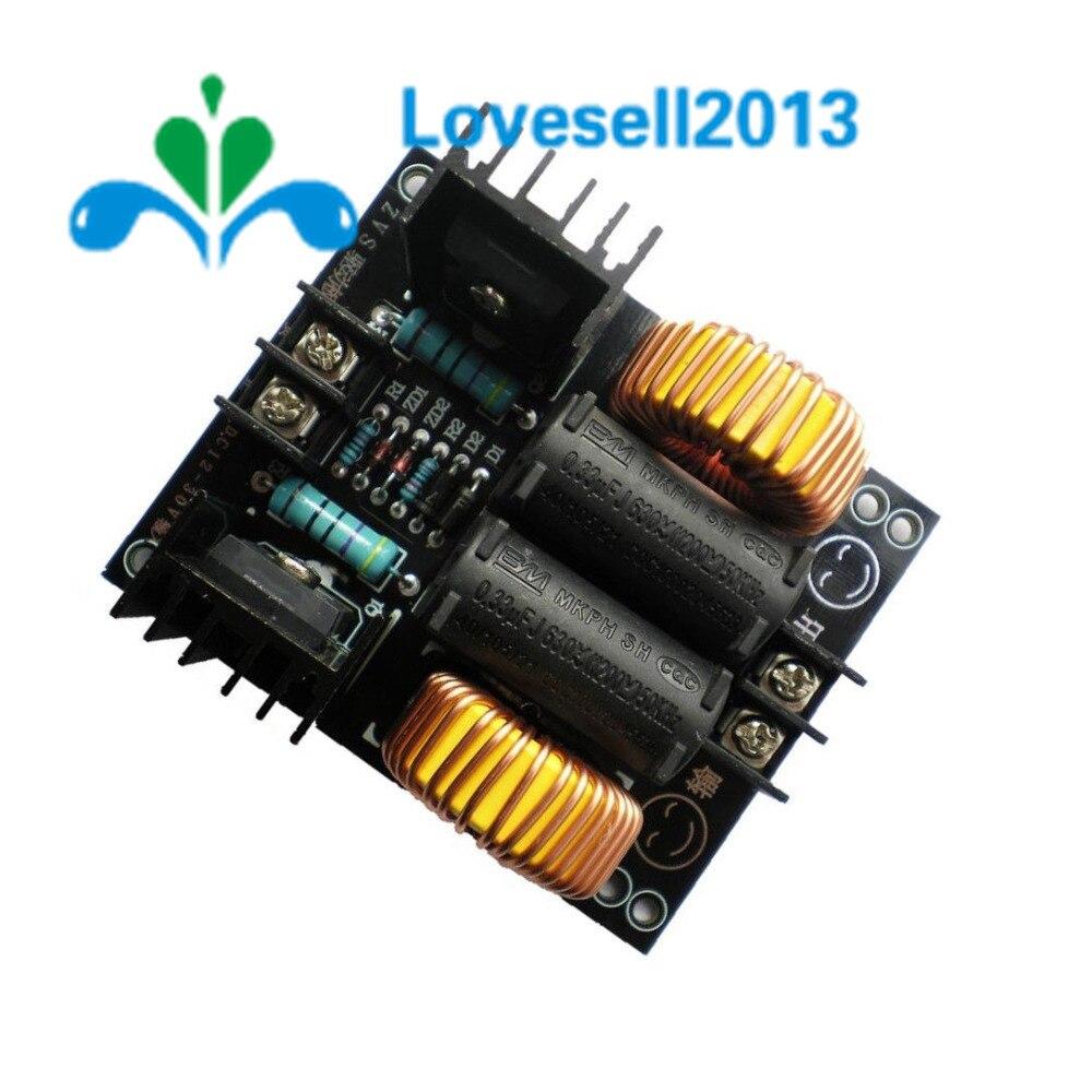 20A 1000W ZVS низковольтная индукционная нагревательная плата модуль Flyback нагреватель