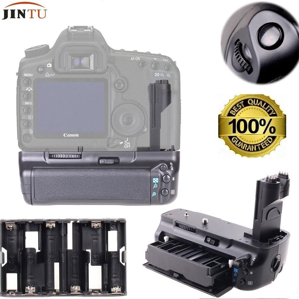 JINTU Камера Вертикальная Батарейная ручка (замена для Canon BG-E6 Grip) для Canon EOS 5D Mark II 5DII 5D2 Рабочая LP-E6 батарея