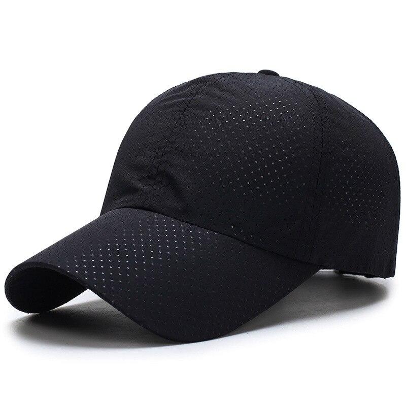 2019 Ultra-slim מהיר ייבוש בד נשים גבר קיץ מהיר יבש כובע רשת ריצה כובע עצם נשים של לנשימה כובעים