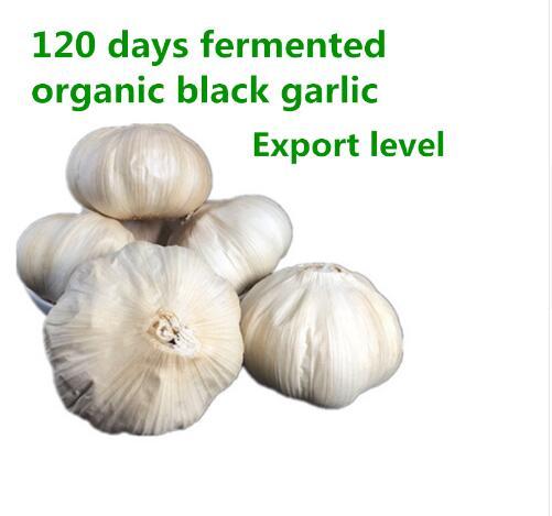 Black garlic 120 days of fermentation for good health, supplemental nutrition 500g organic black garlicFree shipping
