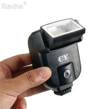 CY-20 Mini Flash Flash Port de synchronisation Speedlite universel pour Nikon Canon Panasonic Olympus Pentax Sony Alpha appareils photo