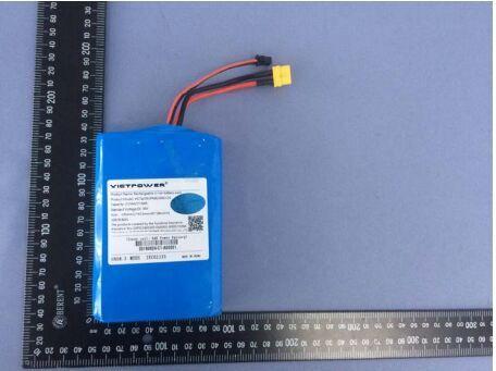 18650 10S1P Battery Pack 36V 2150mAh Lithium Battery Pack for Electric Skateboard