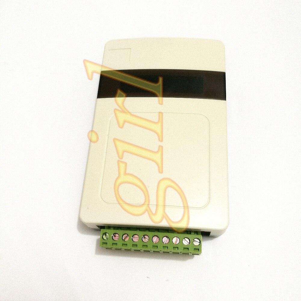 وحدة اكتساب درجة الحرارة 18B20 عداد باترول عرض بروتوكول MODBUS RTU أكثر من 485 اتصال شبكة الكمبيوتر