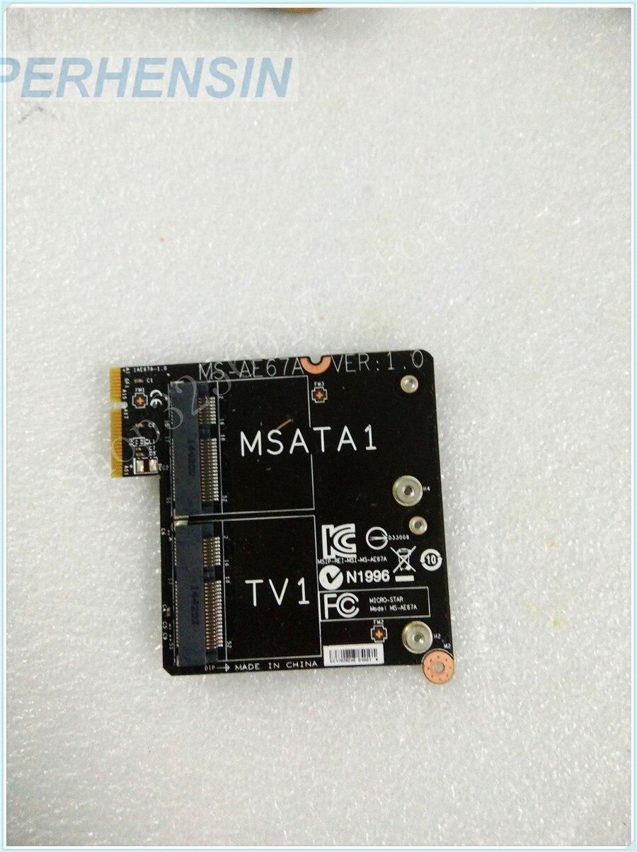كمبيوتر محمول حقيقي الأصلي ل MSI ل MS-AE671 MS-AE67 SATA TV مجلس MS-AE67A