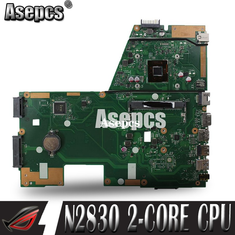 Akemy X551MA материнская плата для ноутбука ASUS X551MA X551M X551 F551MA D550M протестированная оригинальная материнская плата N2830 2-ядерный процессор