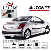 JIAYITIAN-caméra de Vision arrière   Pour Peugeot 207CC 207cc 2D coupé CCD Vision nocturne/plaque dimmatriculation, caméra de sauvegarde inversée