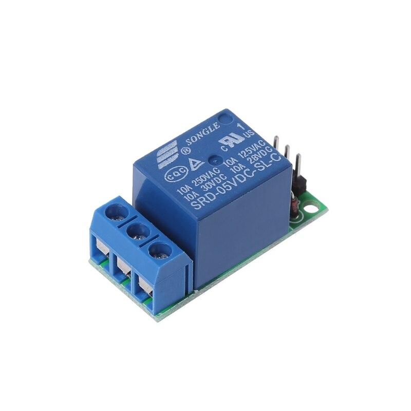 Io25a01 5 v flip-flop trava módulo de relé bistable auto-travamento interruptor de pulso baixo gatilho placa # aug.26